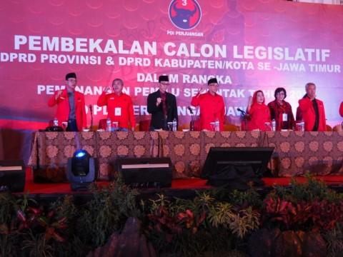 DPD PDI Perjuangan Jawa Timur Gelar Konsolidasi Caleg se- Jatim
