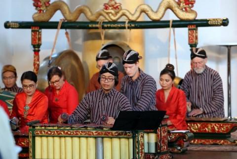 Gamelan Jawa jadi Pembuka Festival Musik Swedia