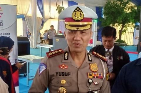 Direktur Lalu Lintas (Dirlantas) Polda Metro Jaya Kombes Yusuf - MI/Tosiani.
