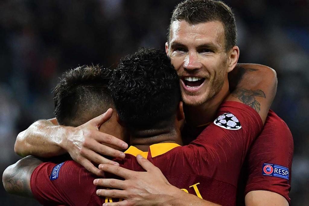Roma Pesta Gol ke Gawang Viktoria Plzen