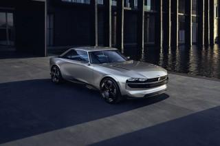 Gaya Jadul Peugeot E-Legend Concept Berteknologi Masa Depan