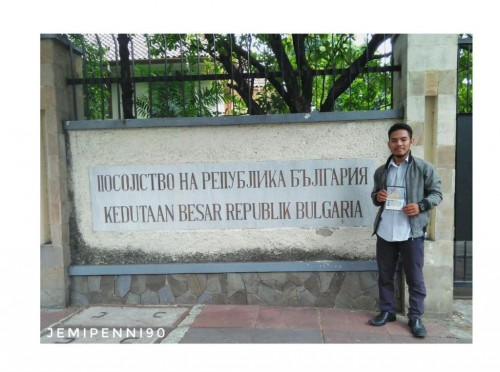 Jemi Peni, mahasiswa UHAMKA penerima beasiswa Eramus+ untuk