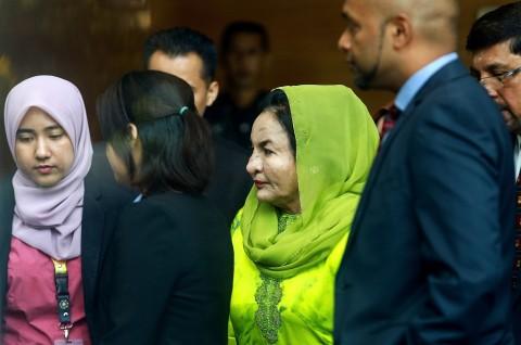 Istri Mantan PM Malaysia Ditangkap