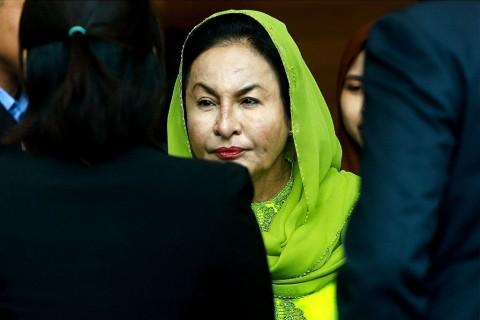 Istri Najib Razak Didakwa 17 Tuduhan Pencucian Uang
