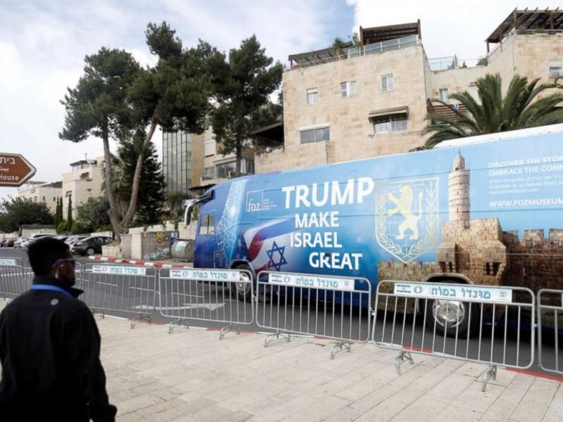 Saat pembukaan Kedubes AS di Yerusalem, Mei 2018. (Foto: ABC)