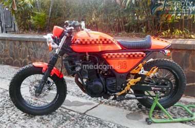 Kawasaki Ninja 250 tahun 2010, sekarang tampil pede dengan