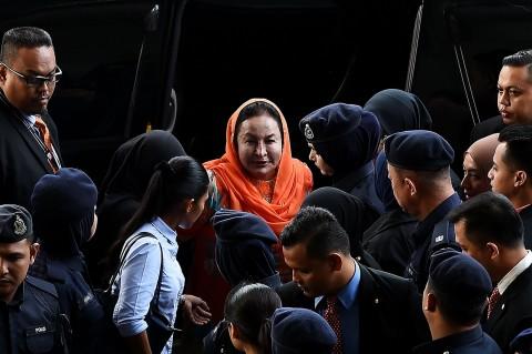Istri Najib Razak Dijerat 17 Dakwaan Kasus Pencucian Uang