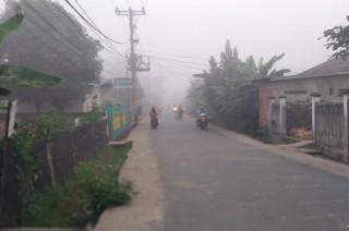 Udara di Palembang Tak Sehat