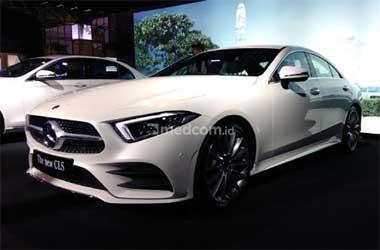Mercedes-Benz New CLS 350 AMG Line ramaikan segmen sedan premium
