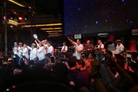 Konser Musisi dan Para Menteri Kumpulkan Donasi Rp18 M untuk Korban Gempa Palu