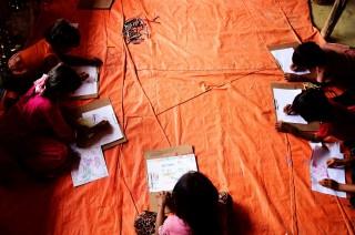 PBB Sebut Anak-Anak Rohingya Butuh Pendidikan Dasar