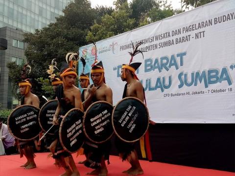 'Dari Barat Pulau Sumba' Gaet Wisatawan Jakarta
