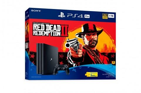 Bundle pack Sony dan Red Dead Redemption 2.
