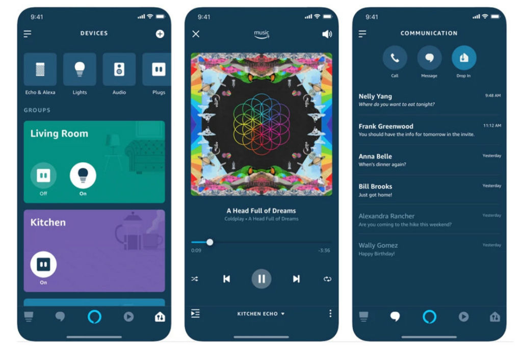 Amazon menggulirkan update desain secara menyeluruh untuk aplikasi pendamping Alexa versi Android dan iOS.
