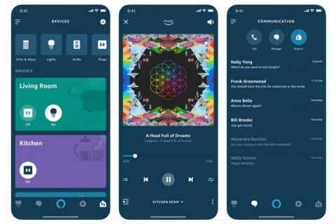 Aplikasi Amazon Alexa Rombak Desain Menyeluruh