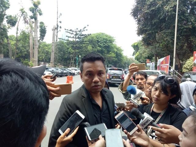 Kuasa Hukum Ratna Sarumpaet, Insank Nasruddin--Medcom.id/Siti Yona Hukmana.