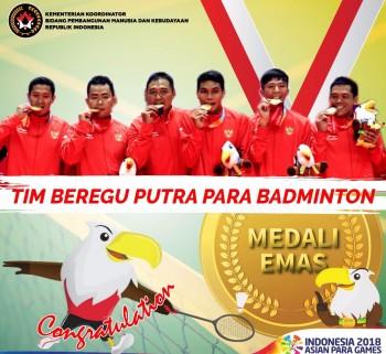 Asian Para Games, Inspirasi Semangat bagi Korban Bencana Sulteng
