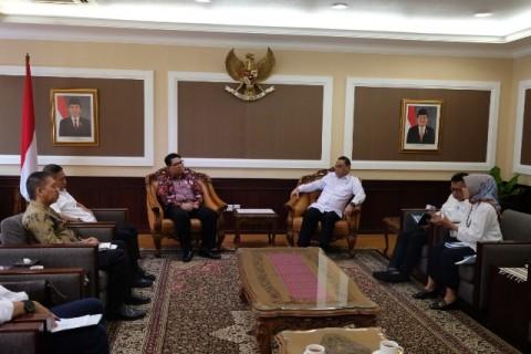Pimpinan LPSK dan Menpan RB Bahas Pengelolaan Anggaran