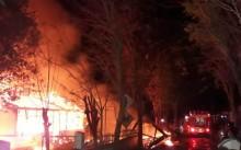 Rumah Dinas Pegawai PT Garam Terbakar