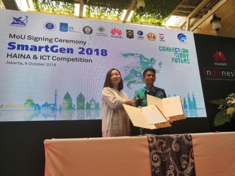 Huawei dan Delapan Kampus Gelar Kompetisi TIK