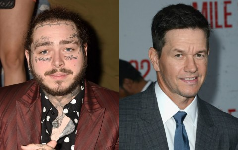 Post Malone - Mark Wahlberg (Foto: gettyimages)