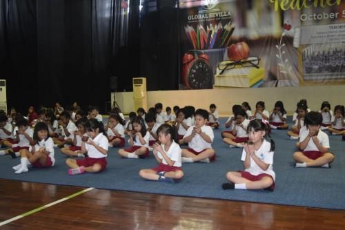 Siswa Global Sevilla School mengikuti acara A Day of