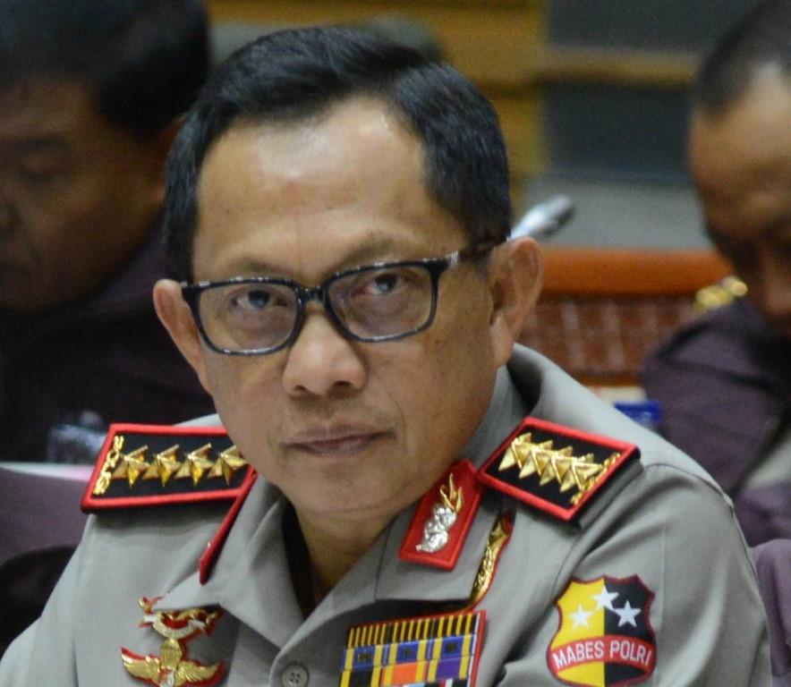 Kapolri Jenderal Tito Karnavian. MI/M Irfan.