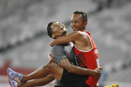 Abdul Halim Dalimunthe Tambah Perak dari 100 Meter Putra
