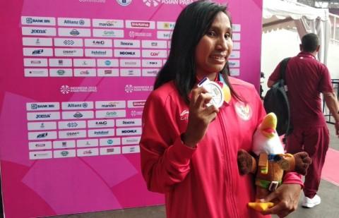 Sprinter para atletik Indonesia Ni Made Arianti Putri (Foto:
