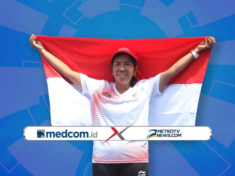 Julia Verawati Sabet Emas di Asian Para Games 2018