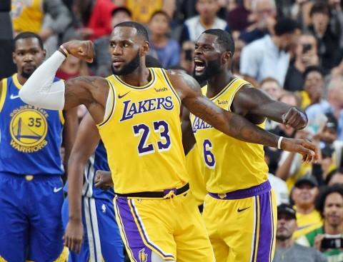 Hasil Pramusim NBA: Lakers Jinakkan Warriors