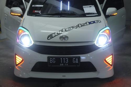 Toyota Agya milik ATis. Autovision