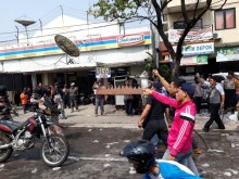 Polresta Depok Gelar Simulasi Pengamanan di KPU