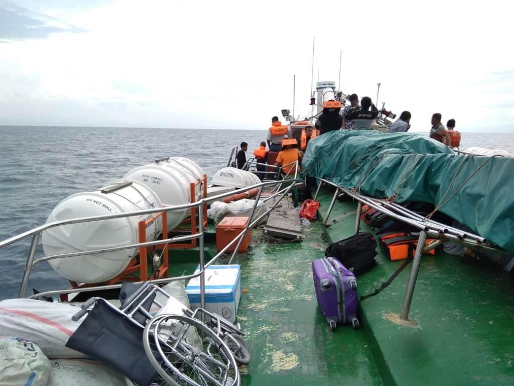 Kondisi kapal dan penumpang di atas kapal MV Voc Batavia