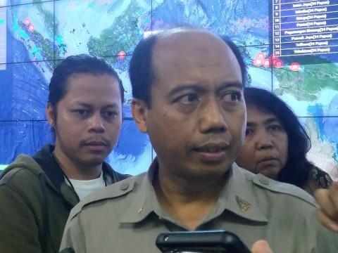 BNPB spokesman Sutopo Purwo Nugroho (Photo:MI/Putri Yuliani)