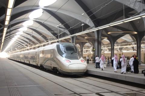 Kereta Cepat Mekkah-Madinah Resmi Beroperasi