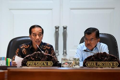 Presiden Joko Widodo dan Wakil Presiden Jusuf Kalla, ANT/Puspa