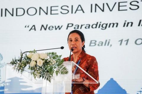 Menteri Badan Usaha Milik Negara (BUMN) Rini Soemarno. ANT/Jefri