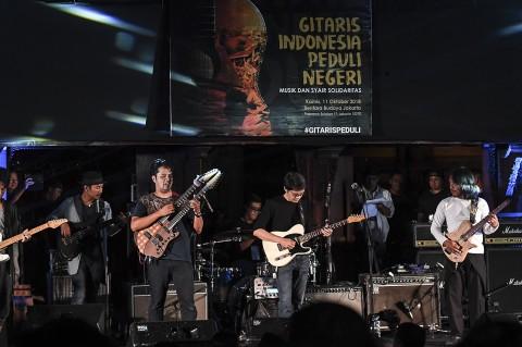 Gitaris Indonesia Gelar Konser Amal untuk Korban Gempa
