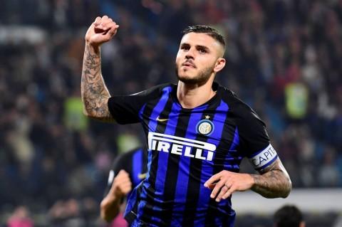 Kapten Inter Milan, Mauro Icardi (AFP/Miguel Medina)