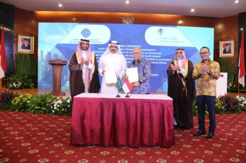 Pemerintah Indonesia dan Arab Saudi menyepakati kerja sama