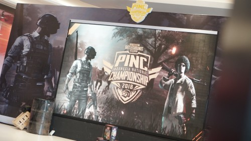 PUBG Mobile Indonesia National Championship.