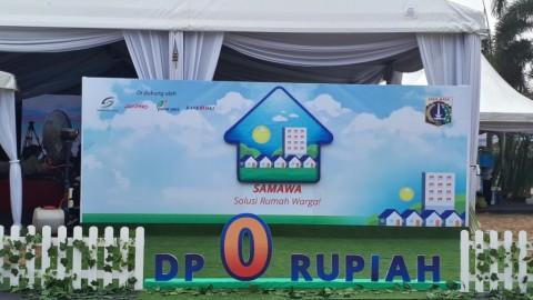 Peluncuran program hunian DP Rp0 bernama Solusi Rumah Warga