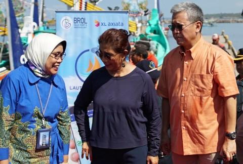 Menteri Susi Kenalkan Aplikasi Laut Nusantara ke Nelayan Bali