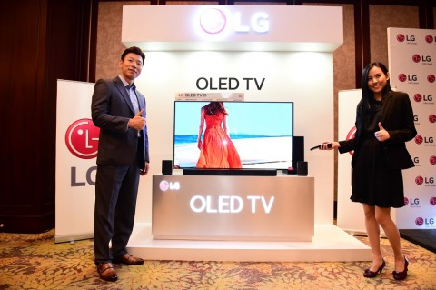 LG perkenalkan Seri LG 55B8.