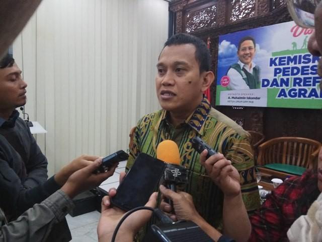 Abdul Kadir Karding--Medcom.id/Faisal Abdalla.