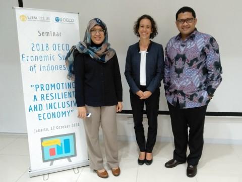 Head of the Indonesia/Switzerland Desk in the OECD's Economics