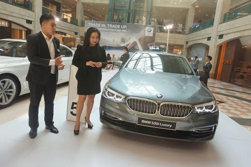 BMW Indonesia membuka pameran di Plaza Senayan. MEdcom.id/Ekawan