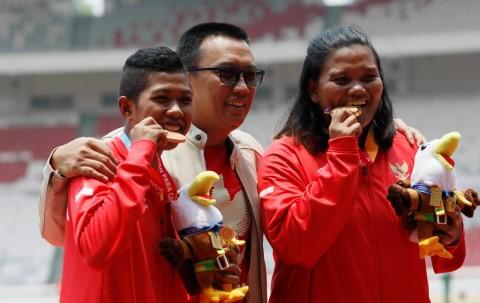 Indonesia Lampaui Target Emas, Menpora Kucurkan Dana Cadangan untuk Bonus Atlet