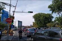 Pelanggar Lalu Lintas di Surabaya Dapat SMS Tilang